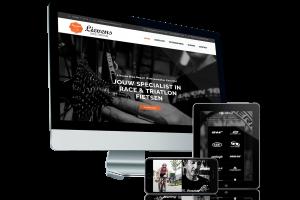 Responsive webdesign voor Lievens Bike Repair door Fusion.web