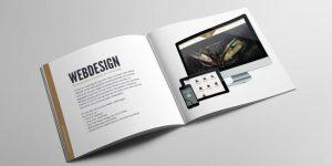 Folder Fusion.web - mockup - voorstelling - grafisch ontwerp