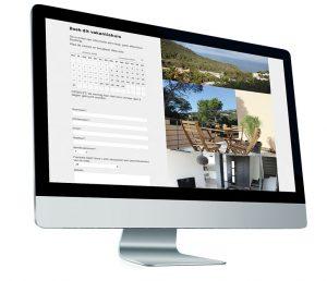 Booking website villa in Ibiza