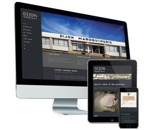 Webdesign: Mobielvriendelijke website voor Dijon Maroquinerie