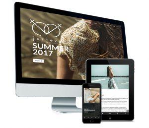 Webdesign: Mobielvriendelijke website voor Justeve door fusion.web