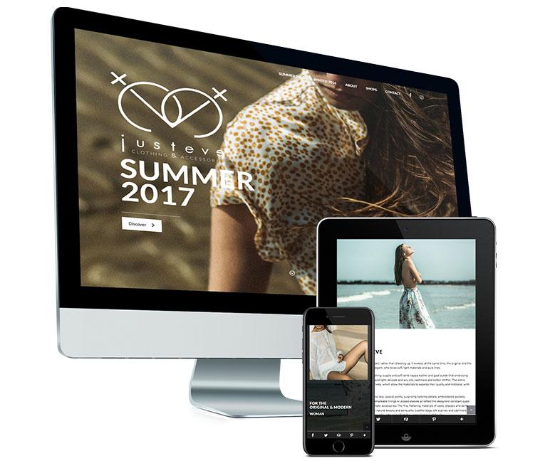 Mobielvriendelijke website voor Justeve door fusion.web