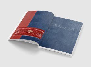 Catalogus / Notebook / folder voor Lebeau-Courally herfst/winter collectie 2018/19