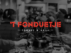 Website en menukaarten voor restaurant fonduetje uit Kortrijk