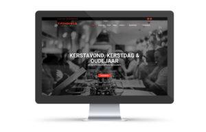 Webdesign, website, voor restaurant 't fonduetje Kortrijk