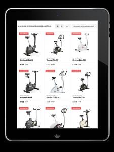 Webshop Electro Vandeput Tienen - iPad view