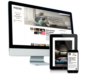 Blog voor Belgian pearls - responsive website - mobielvriendelijk