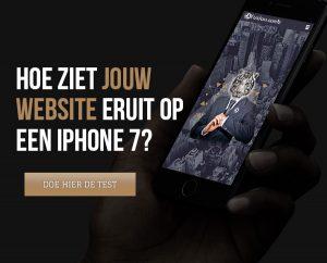 mobielvriendelijke website - responsive design