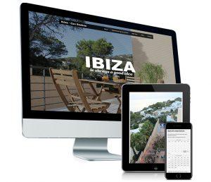 Mobielvriendelijke website voor Can Boeboe - Ibiza (booking)