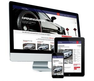 Webdesign: Website voor Expo-cars Roeselare door Fusion.web
