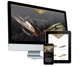 Webdesign: webshop jacht accessoires - Lebeau Courally