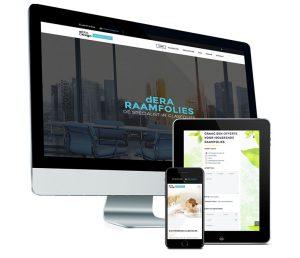 Webdesign: Mobielvriendelijke website voor deraraamfolie door Fusiondotweb