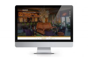 Website voor Dukes' Restaurant in Brugge - The Swan Hotel Collection