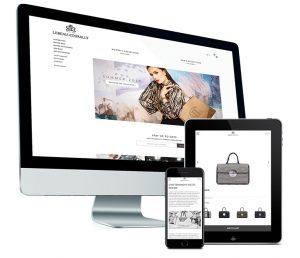 Webshop op maat voor Lebeau-Courally handtassen, horloges en jacht accessoires