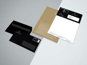 Briefpapier en enveloppen voor Lode Lefevre
