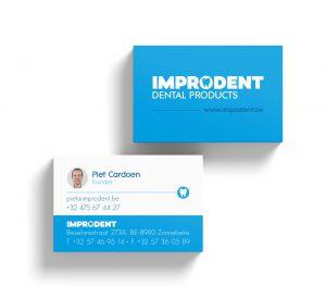 Visitekaartjes voor Improdent