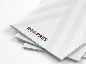 logo, onlinemarketing, folder voor IMAPRES
