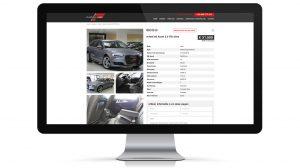 Website garage, autohandelaar Flanders cars - Roeselare