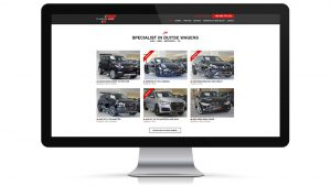 Website garage, autohandelaar Flanders cars - Roeselare - Overzicht autos