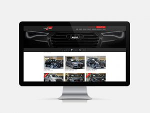Webdesign, website voor Flanders Car, Roeselare