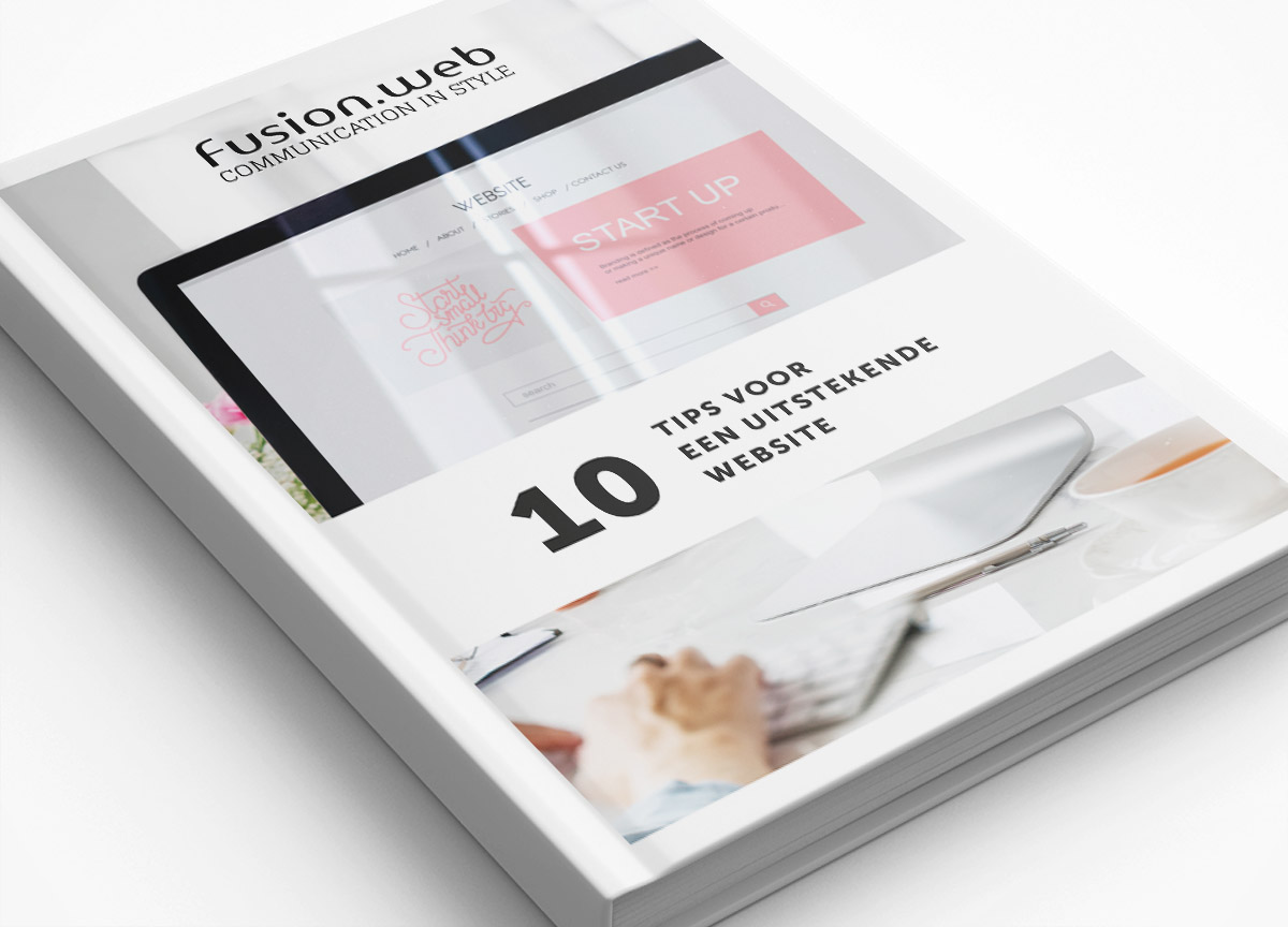 Tips voor jouw nieuwe website met een professioneel webdesign - Download de tips voor een uitstekende website