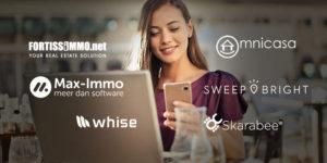 Vastgoed software voor uw website, Skarabee, Omnicasa, Sweepbright, Fortissimmo, Max-Immo of Whise, welk vastgoed pakket kiezen?