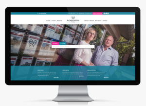 Website op maat voor vastgoedmakelaar aendekerk immo