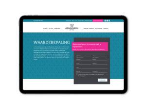 Website aendekerk immo - gratis schatting, waarde van je woning