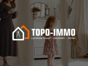 Website op maat gemaakt voor vastgoedkantoor Topo-immo
