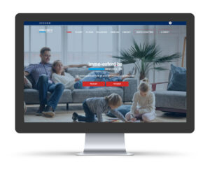 Website voor vastgoedmakelaar immo oxford