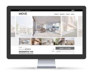 Website voor vastgoedmakelaar - immokantoor