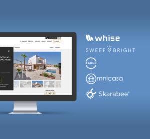 Integratie met uw vastgoedsoftware Whise, Swipbright, zabun...