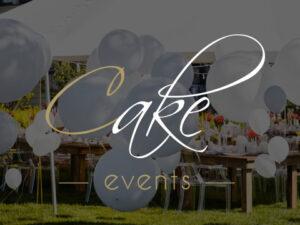 Webdesign Logo en Copywriting voor Cake Events in Ieper met een Contentmanagementsysteem